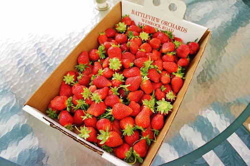 """Pick Your Own"" Strawberries"