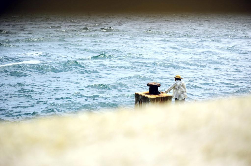 a man|鳴門岬