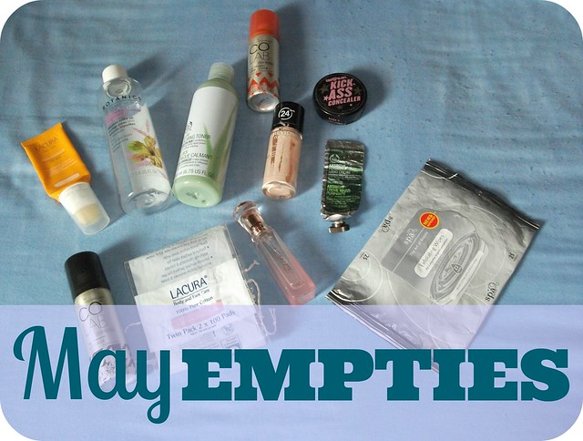 May 2015 Beauty Empties