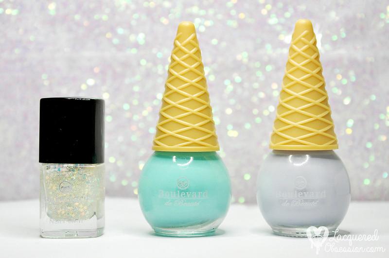 Nail polish swap with Frau von Farbe
