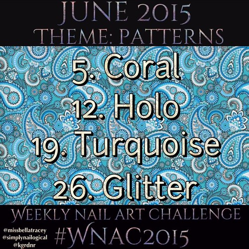 #WNAC2015 June / Patterns