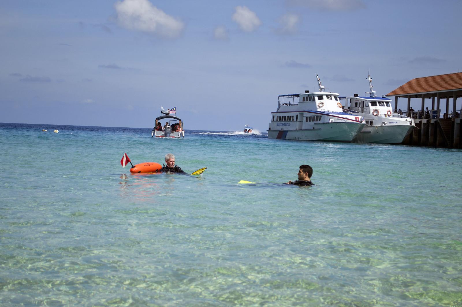 scuba diving salang