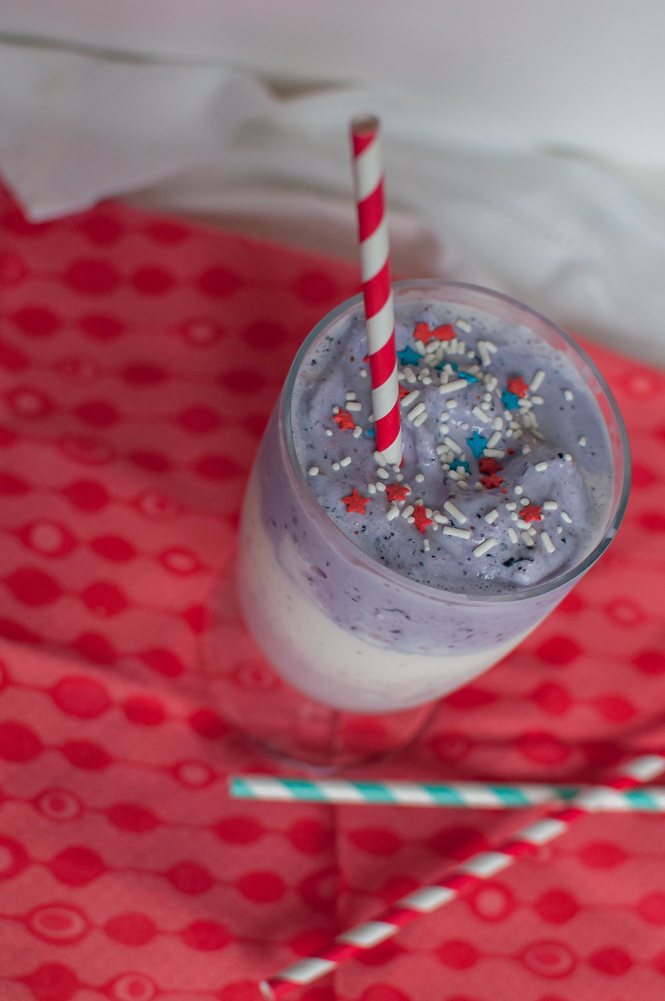 Red, White and Blue Milkshake 3