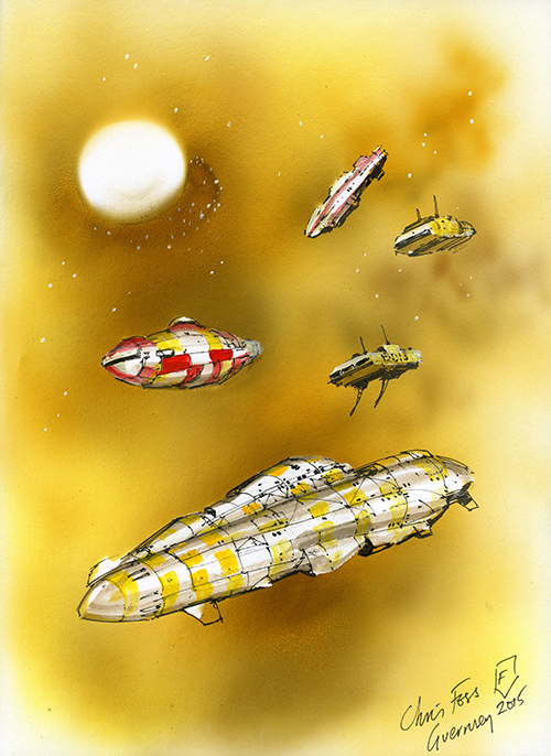 Chris Foss Illustration