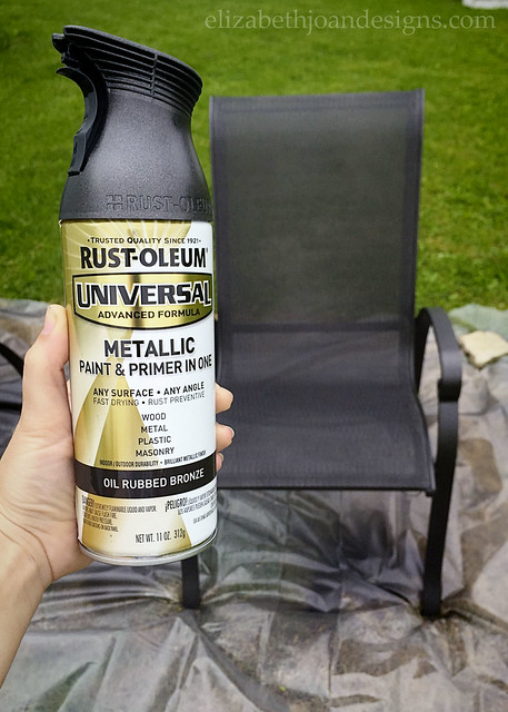 Spray Paint Chair