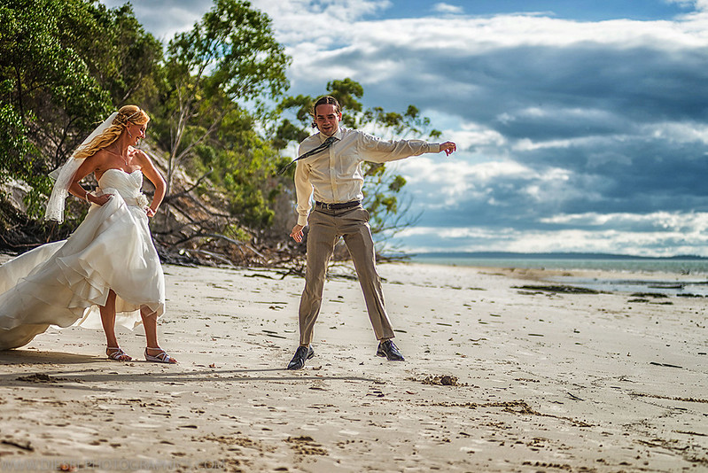 Star Wars beach wedding from @offbeatbride