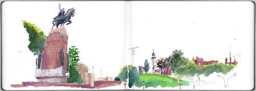 Plaza Francia / France Square: