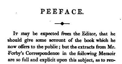 Preface original forgotten