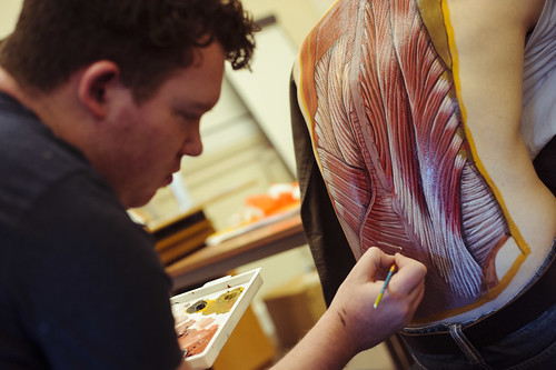 Art and anatomy event illustrates the wonders of the human body