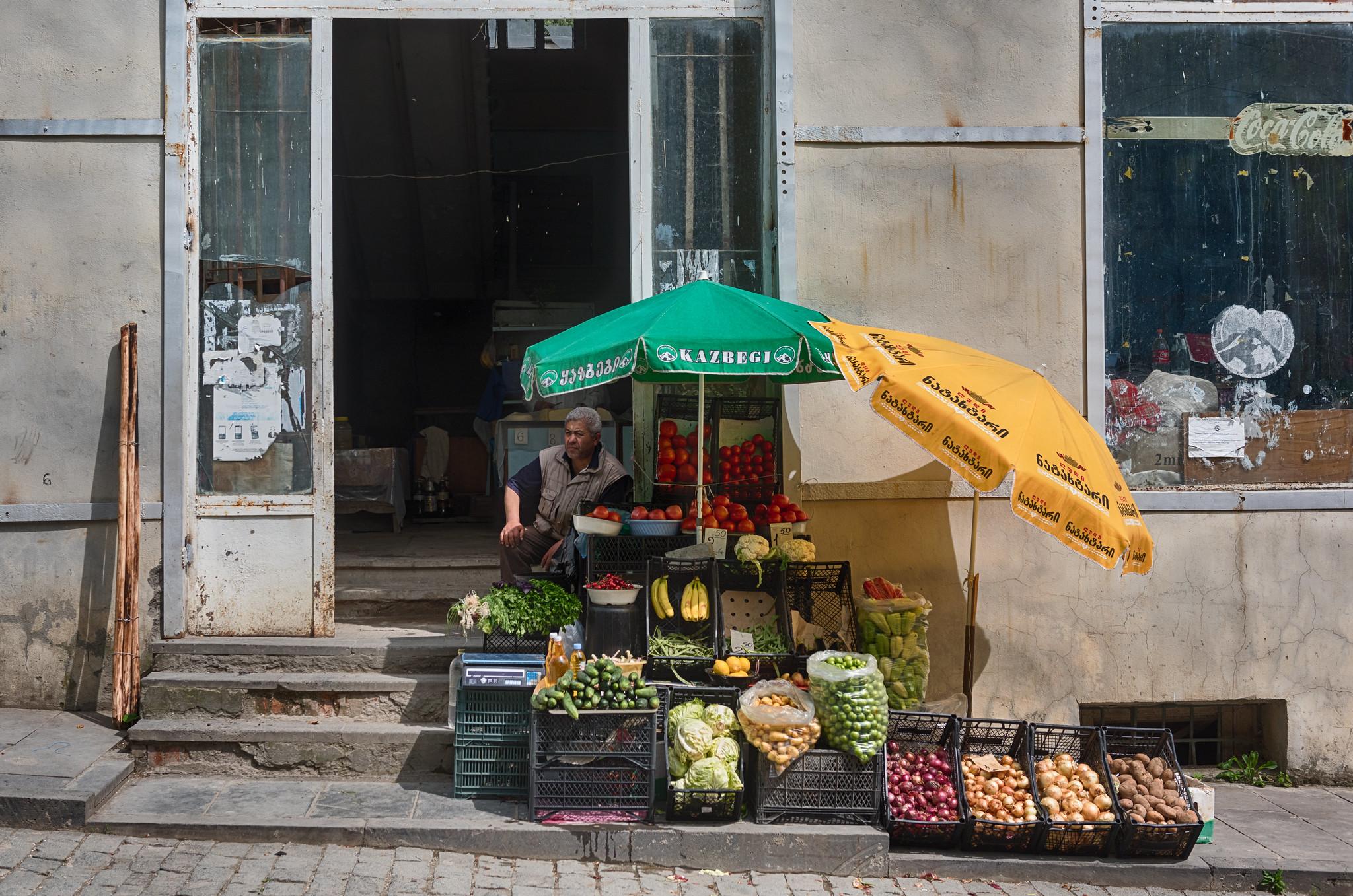 Signaghi Produce Vendor