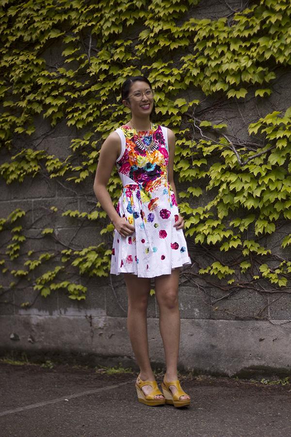 Prabal Gurung for Target floral dress