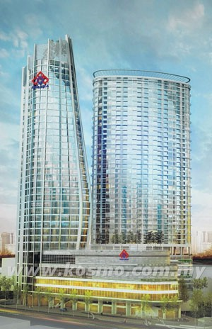 Kuala Lumpur Felcra Tower 120m 45 Fl U C