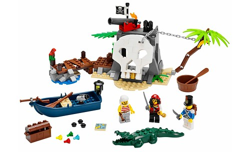 LEGO Pirates 70411 Treasure Island 00