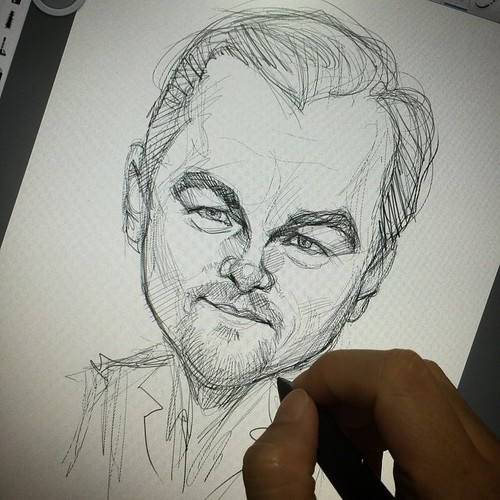 Clearing some work before the Caricature Mini Convention 2 days later.....