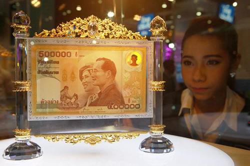 Thailand 500,000-Baht Commemorative