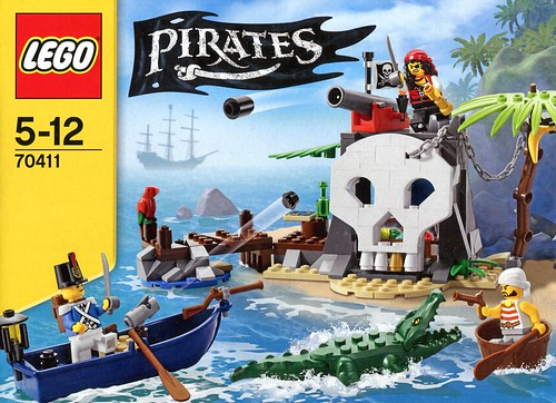 LEGO Pirates 70411 Treasure Island box02