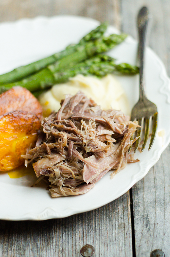 Pulled Pork in the Crockpot-Slow Cooker | Buttered Side Up