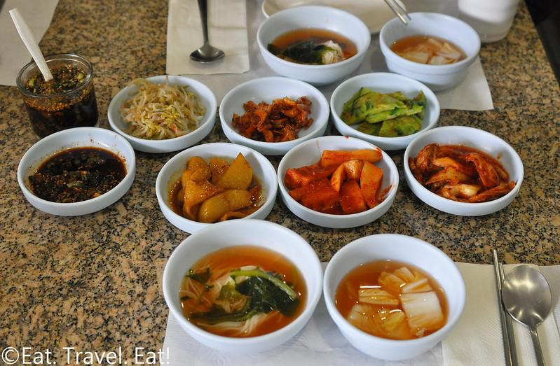 Jeon Ju- Los Angeles (Koreatown), CA: Banchan