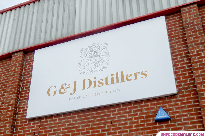 Visita G&J Distillers - Warrington