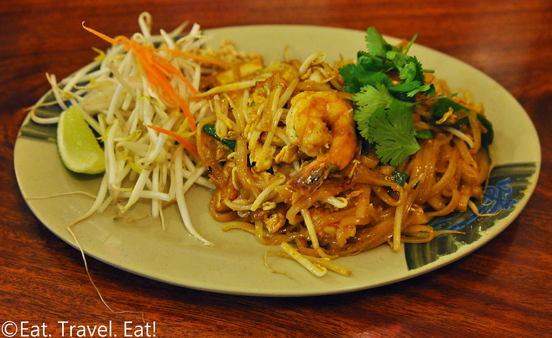 Pa-Ord Noodle #3- Los Angeles (Thai Town), CA: Shrimp Pad Thai
