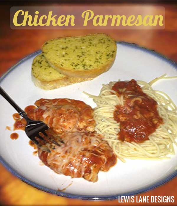 Chicken Parmesan by Lewis Lane Designs