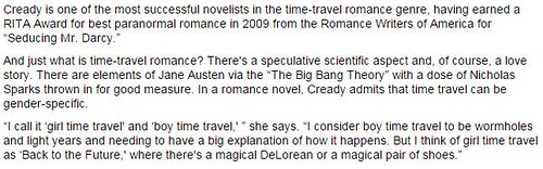 The Most Unscientific And Sexist Description Of Time Travel Ever