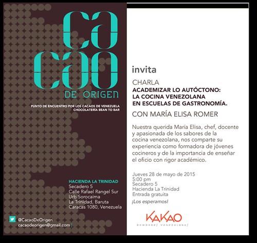 MARIA ELISA ROMER EN CACAO DE ORIGEN