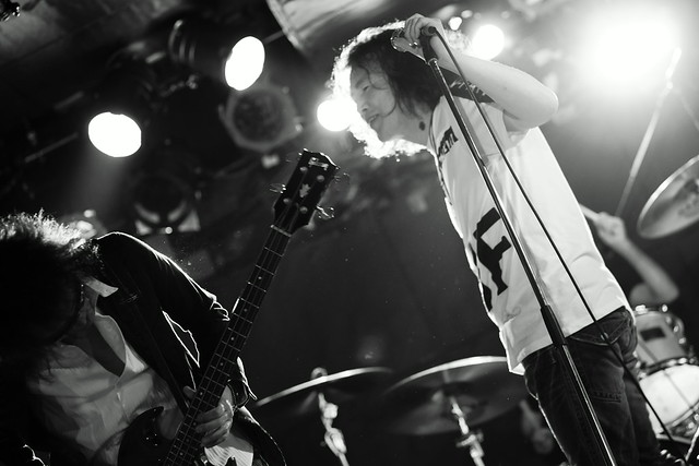 TONS OF SOBS live at Outbreak, Tokyo, 23 May 2015. 324