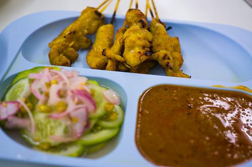 Satae Chicken at Hatyai