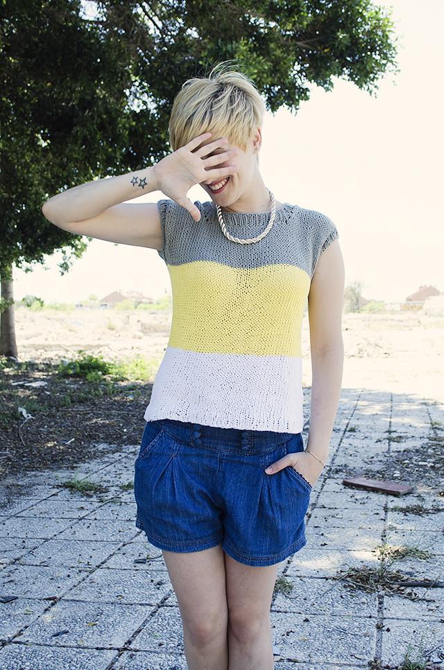 Color Block Summer Jumper