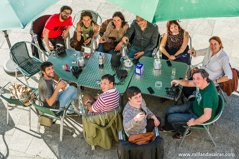 GaliciaTB os desea... una buena velada en vuestra visita a Ribadavia!!