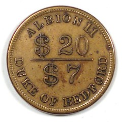 Col Hardy Crier token reverse