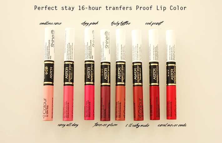 Astor Perfect stay 16-hour transfer proof lip color4