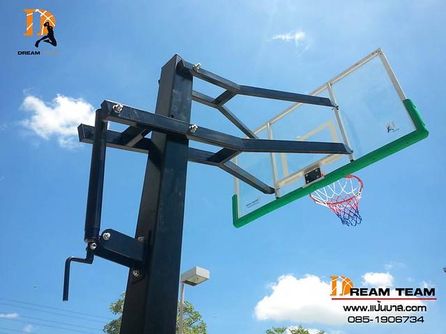 inground basketball system