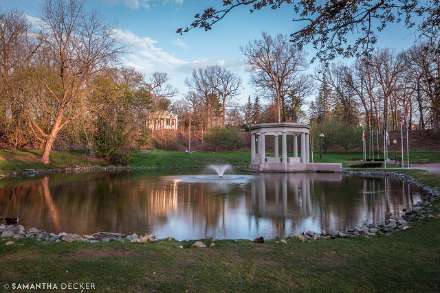 A Tranquil Evening in Congress Park