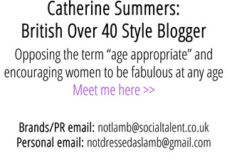 Catherine Summers - British Over 40 Style Blogger