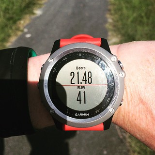 30.8 miles = beers earned @garminfitness @garminofficial #fenix3