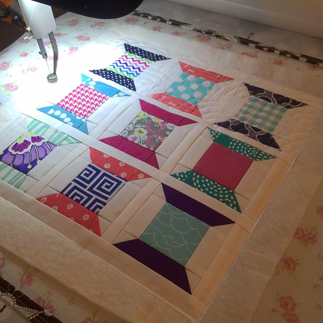baptist fan quilting