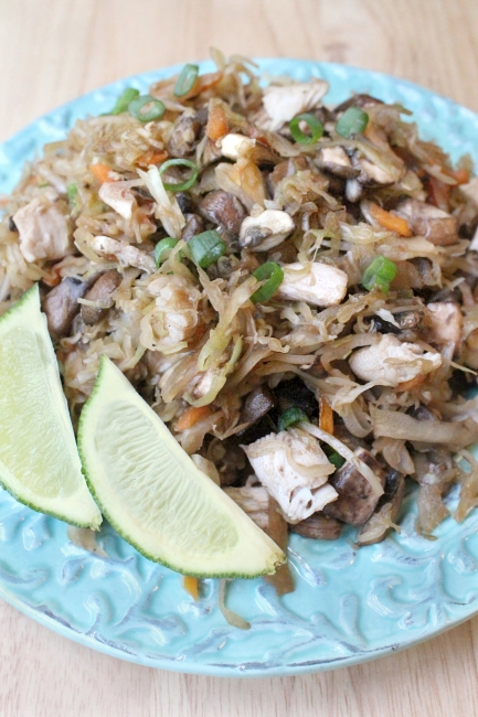 Cabbage Pad Thai, 1  (210 calories)