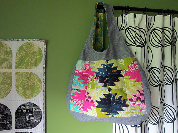 slouchy Mexico bag