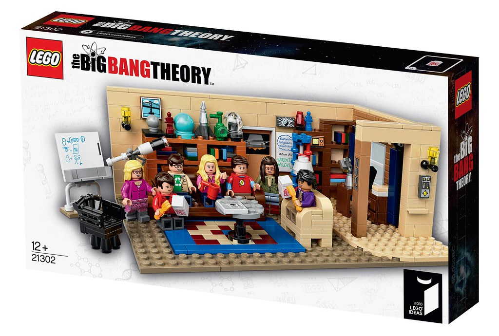 LEGO Ideas 21302 - The Big Bang Theory