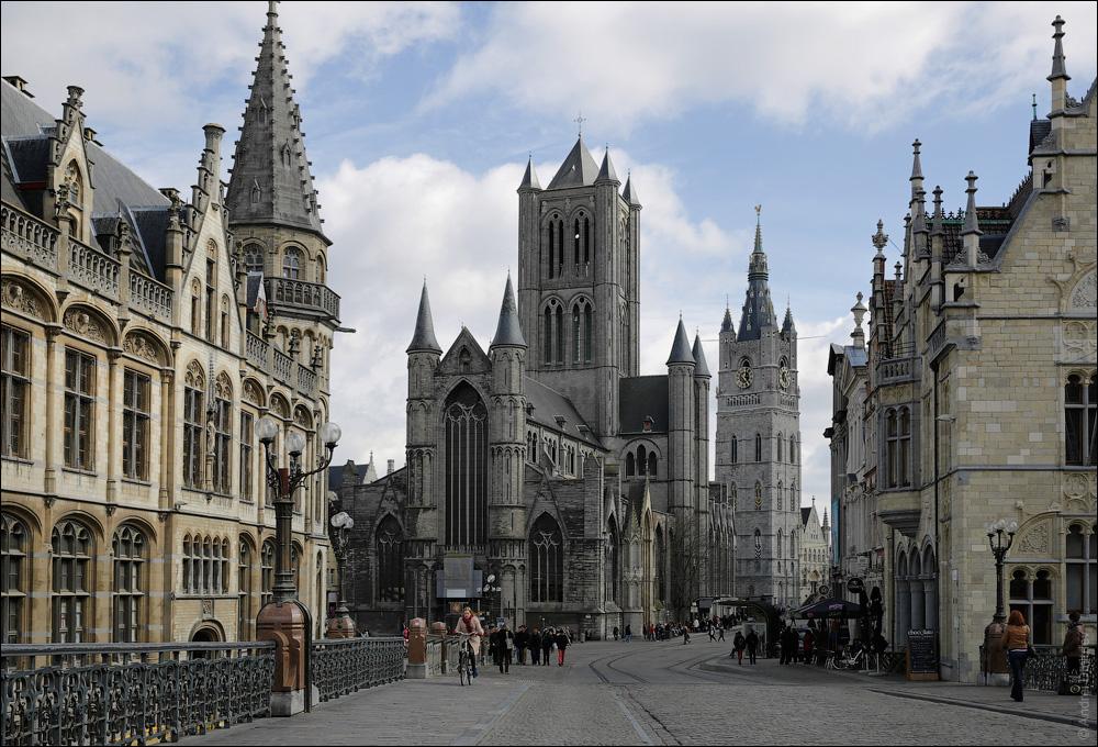 Гент, Бельгия. Фотобродилка. Что посмотреть за один день