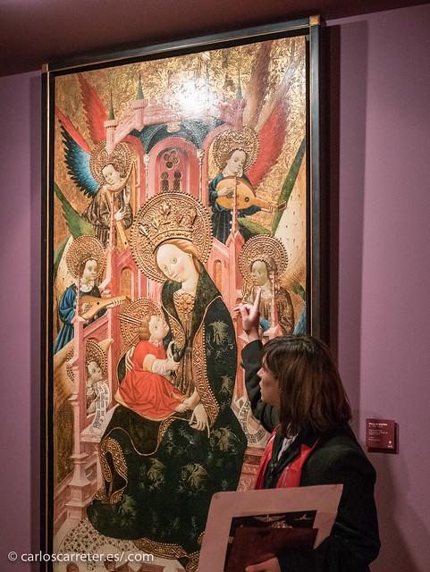 Virgen entronizada de Blasco de Grañén