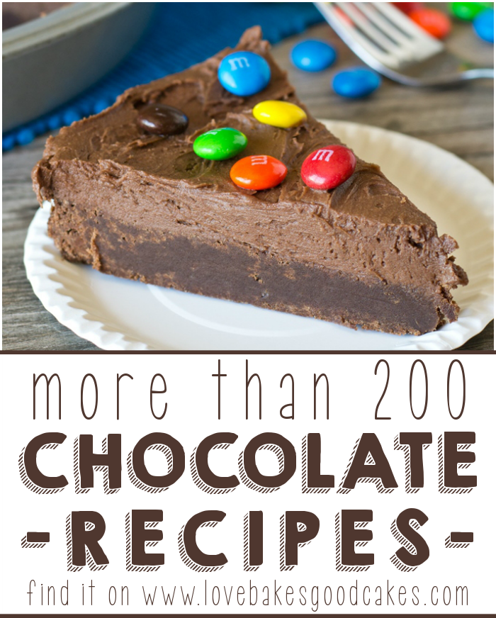 More than 200 Chocolate recipes!