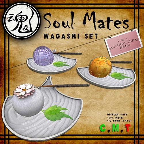 Soul Mates Wagashi Set Ad