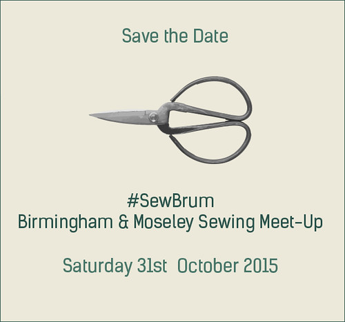 #SewBrum 2015 save the date