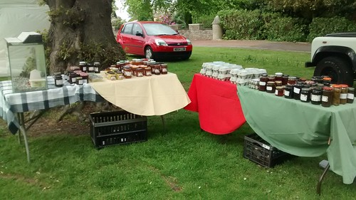 Whickham Fayre stall May 16 1