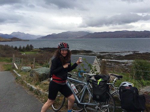 Cycling the Highlands fueled by Pip and Nut
