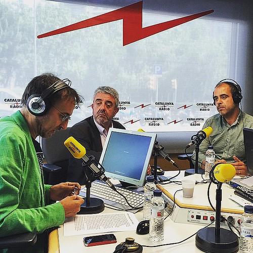 L'oracle de Xavier Graset amb Miquel Buch, alcalde de Premià de Mar, i Xavier Roig #ràdio #catalunyaràdio #Barcelona #catalonia #Catalunya #igers #igmataro #igersgirona #igerscalella #igersmaresme #igersbarcelona #igerscatalunya #independència