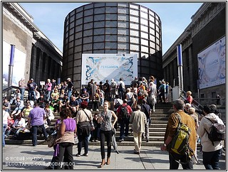 ברלין - הכניסה למוזיאון פרגמון